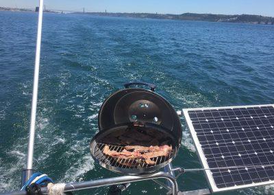 Catering Catamaran_Barbecue